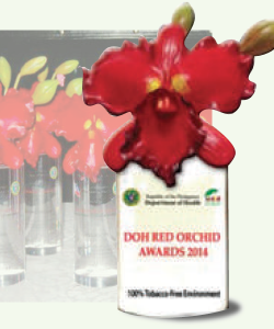 red orchid